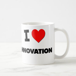 Amo la innovación taza clásica
