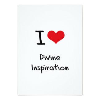 """Amo la inspiración divina invitación 5"""" x 7"""""""