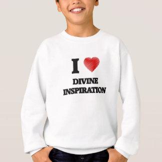 Amo la inspiración divina sudadera