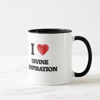 Amo la inspiración divina taza
