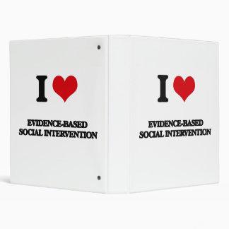 """Amo la intervención social Prueba-Basada Carpeta 1"""""""