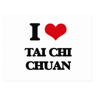 Amo la ji Chuan del Tai Postales