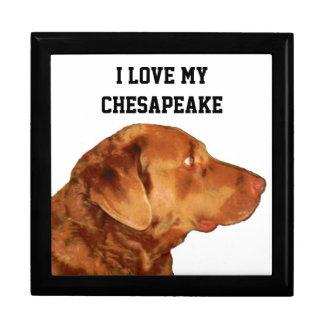 Amo la joyería del Chesapeake la caja de regalo gr