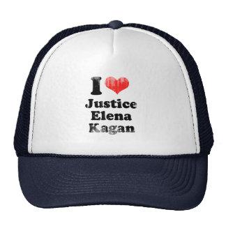 AMO la JUSTICIA ELENA KAGAN.png Gorro De Camionero