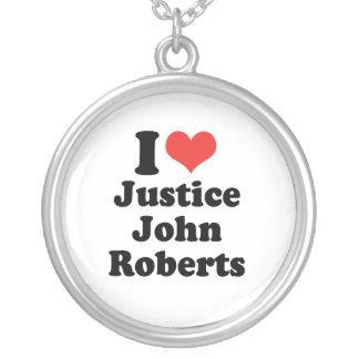 AMO LA JUSTICIA JOHN ROBERTS - .PNG COLLAR PERSONALIZADO