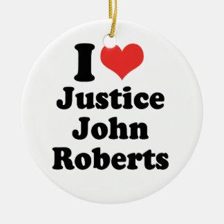 AMO LA JUSTICIA JOHN ROBERTS - .PNG ORNAMENTS PARA ARBOL DE NAVIDAD