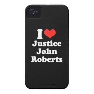 AMO LA JUSTICIA JOHN ROBERTS .PNG Case-Mate iPhone 4 FUNDA