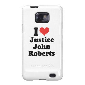 AMO LA JUSTICIA JOHN ROBERTS - .PNG GALAXY SII CARCASA