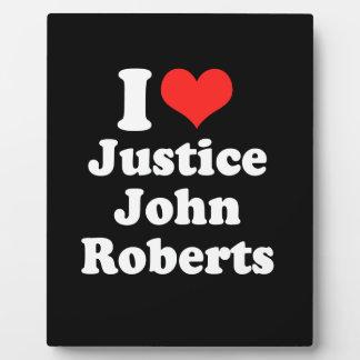 AMO LA JUSTICIA JOHN ROBERTS .PNG PLACAS