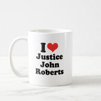 AMO LA JUSTICIA JOHN ROBERTS - .PNG TAZA