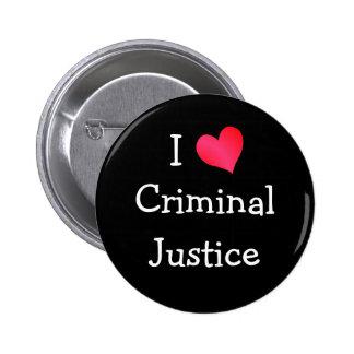 Amo la justicia penal pin