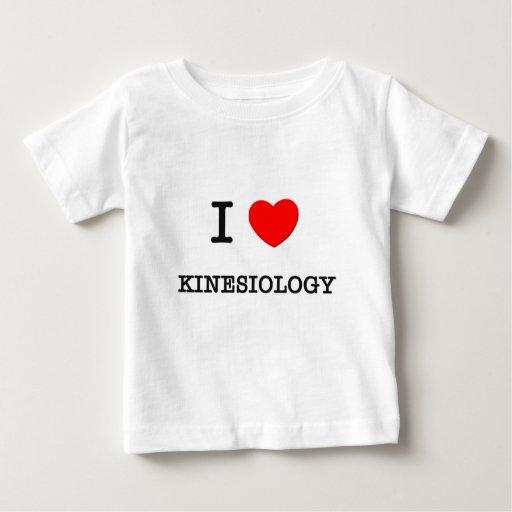 Amo la KINESIOLOGÍA T-shirts