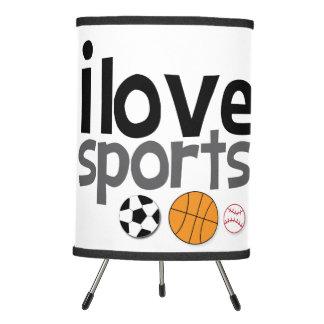 Amo la lámpara de los deportes