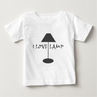 Amo la lámpara playera de bebé