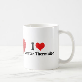 Amo la langosta Thermidor Taza De Café