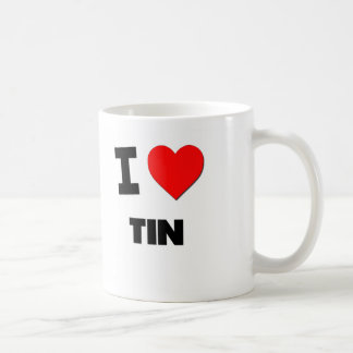 Amo la lata tazas