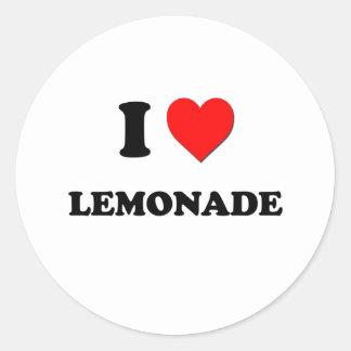 Amo la limonada (la comida) pegatinas