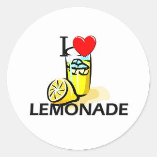 Amo la limonada pegatina