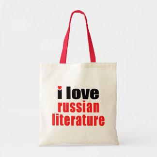 Amo la literatura rusa bolsa tela barata