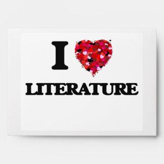 Amo la literatura sobres