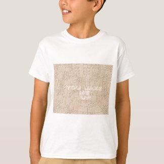 Amo la madera Hakuna marrón que va Matata Camisas