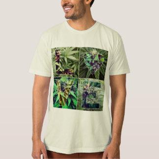 ¡Amo la mala hierba! La camiseta de los hombres