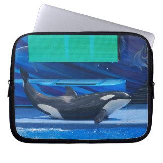 Amo la manga del ordenador portátil de las orcas mangas computadora