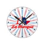 Amo la marca del La, Tejas Reloj De Pared