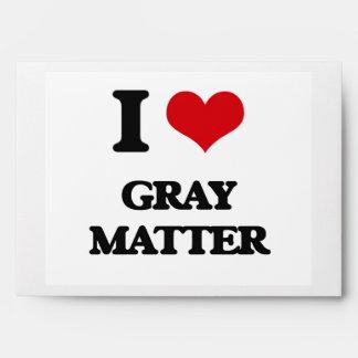 Amo la materia gris sobres