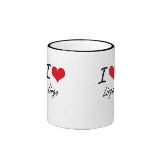 Amo la mazarota taza de dos colores
