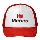 Amo La Meca (del corazón) Gorras