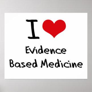 Amo la medicina basada las pruebas posters