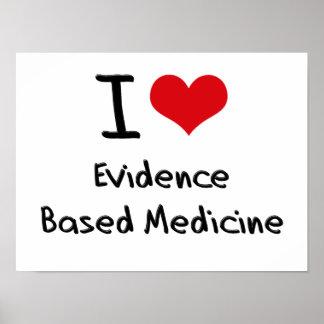 Amo la medicina basada las pruebas poster