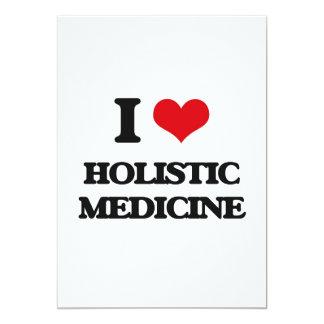 Amo la medicina holística invitación 12,7 x 17,8 cm
