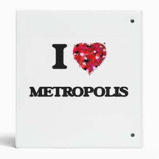 """Amo la metrópoli carpeta 1"""""""