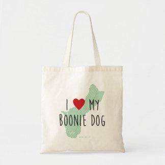 Amo la mi bolsa de asas del perro de Boonie