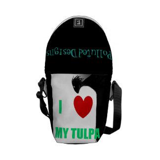 Amo la mi bolsa de mensajero de Tulpa Bolsa Messenger