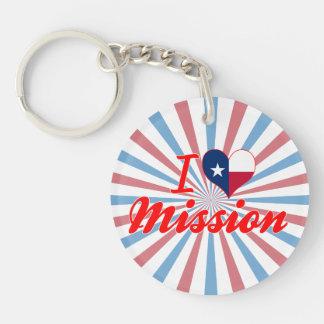 Amo la misión, Tejas Llavero