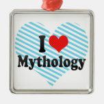 Amo la mitología adorno para reyes