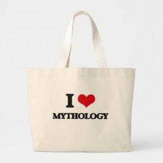 Amo la mitología bolsa de mano
