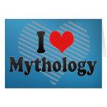 Amo la mitología felicitación