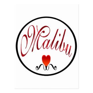 Amo la moda de Malibu Postal