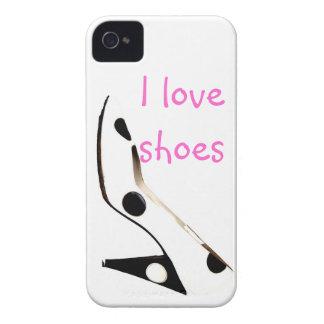 Amo la moda femenina de los zapatos Case-Mate iPhone 4 fundas