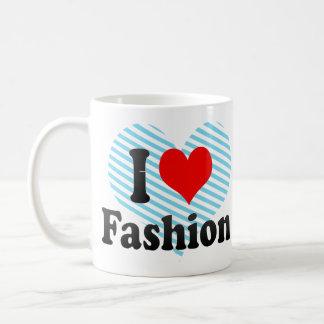 Amo la moda taza