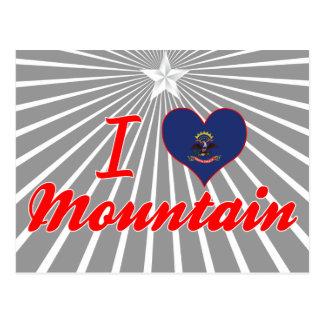 Amo la montaña, Dakota del Norte Postales