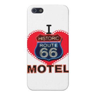 Amo la muestra Kingman Arizona del motel de la rut iPhone 5 Cárcasa