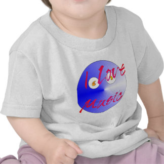 Amo la música #4 camisetas