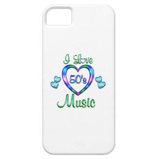 Amo la música 50s iPhone 5 funda