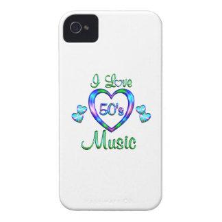 Amo la música 50s Case-Mate iPhone 4 protector