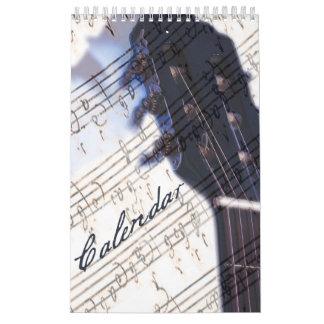 Amo la música - calendario pequeño